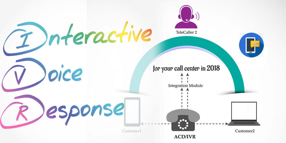 IVR services for mobile