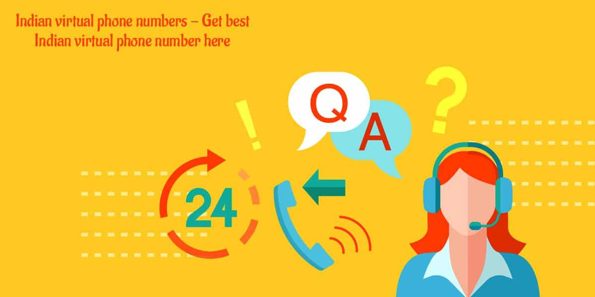 Indian Virtual Phone Numbers Get Best Indian Virtual