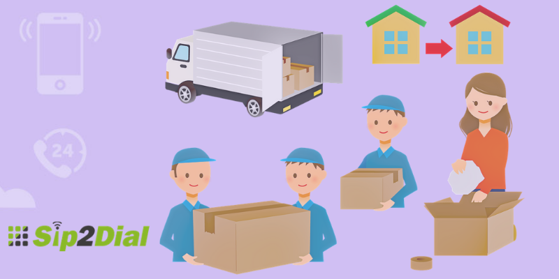 How Packing & Moving Industry Can Utilize Virtual Phone For Improving Customer Experience